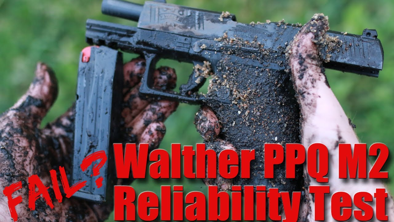 Walther PPQ M2 Reliability Test: Gauntlet FAIL?