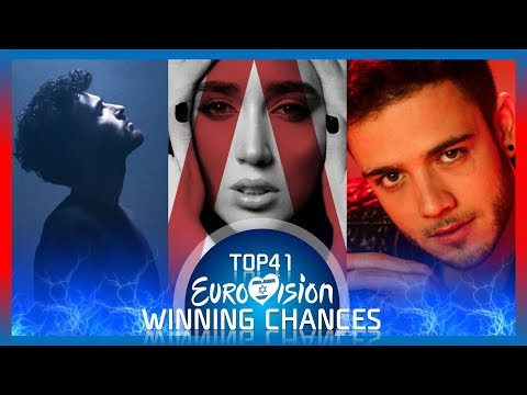 Eurovision 2019 - Each Country' Chances Of Winning Eurovision | According to ESC-PLUS