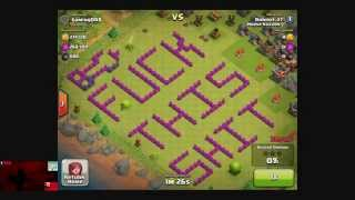 Clash of Clans - Fuck This Shit by Robert_27, Clan Wars 22 Highlights and Prepping for 23