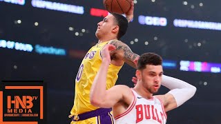 Los Angeles Lakers vs Chicago Bulls 1st Half Highlights   01/15/2019 NBA Season