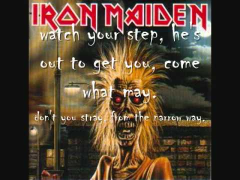 Iron Maiden-Phantom of the opera (with lyrics)