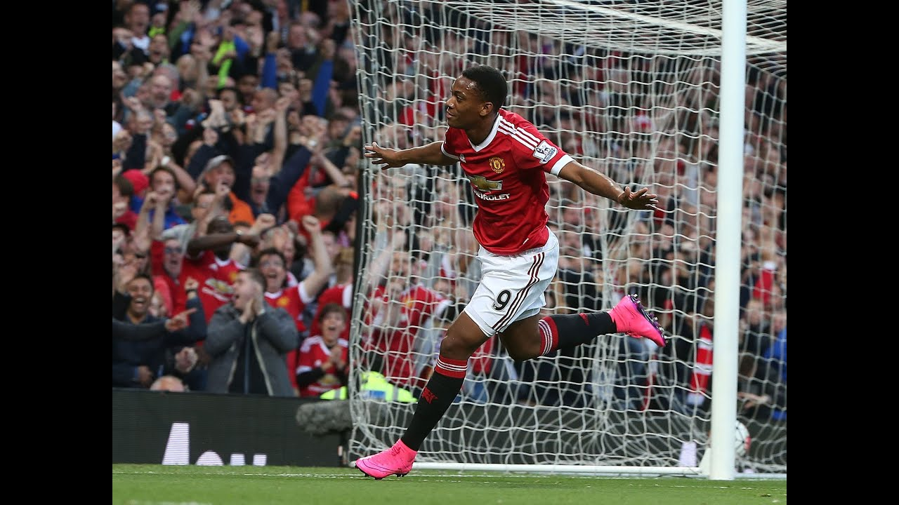 Anthony Martial Amazing First Goal For Manchester United