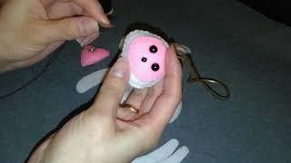Мастер класс по созданию ёлочной игрушки мышки