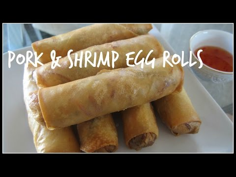 How to make EGG ROLLS | House of X Tia