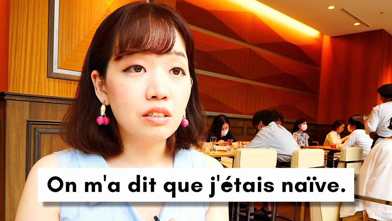 Les difficultés d'une japonaise après avoir vécu en France