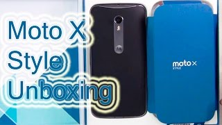 Moto X Style Unboxing And Hands On