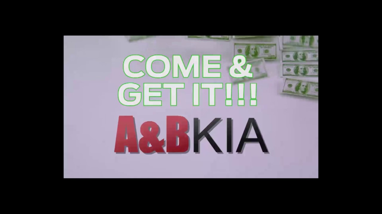 You Want Credit Come And Get It At A B Kia Youtube