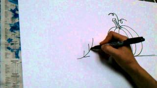 How to draw an autumn leaf! - Presented by J