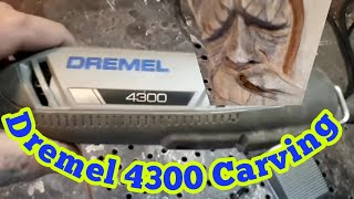 Learn to power carve step by step using a dremel flex shaft and kutzall carving burs