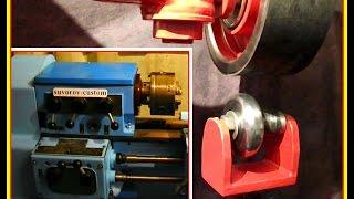 английское колесо - изготовление ролика для него. English wheel - roller manufacturing