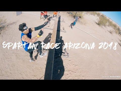 Spartan Race Arizona 2018 full Race! Toughest OCR