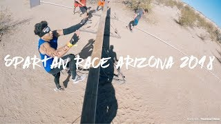 Spartan Race Arizona 2018 full Race! Toughest OCR