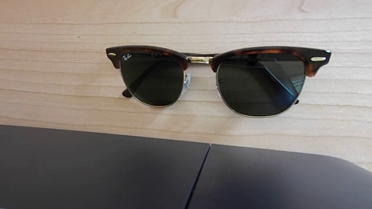 w0366 ray ban ptkf  RAY-BAN CLUBMASTER RB3016 W0366