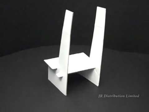 40 Cardboard Display Stand YouTube Interesting Diy Plate Display Stand