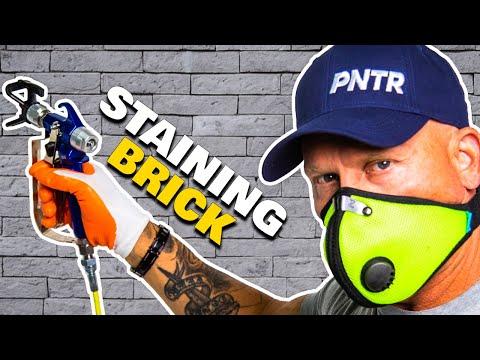 BRICK Makeover --- Simple Steps Painting Brick & Stone