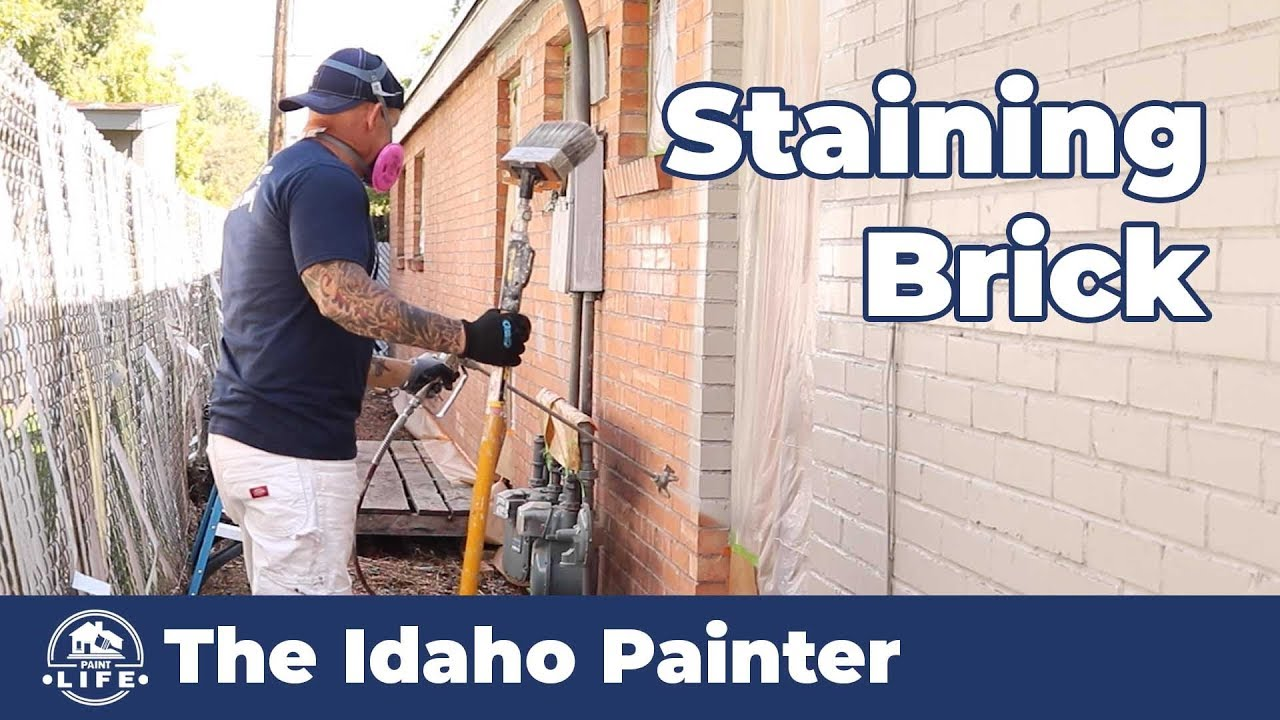 Simple Steps Painting Brick Stone