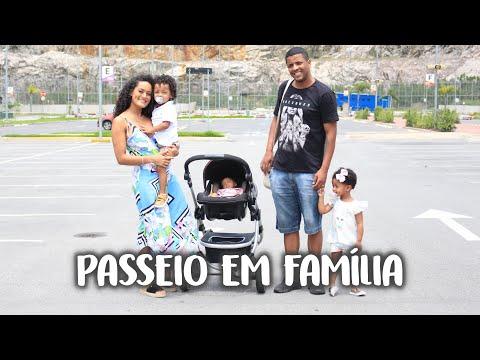 PASSEIO EM FAMÍLIA, SHOPPING COM 3 CRIANÇAS łł SAMARA BARÃO