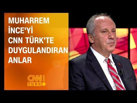 Muharrem İnce'yi CNN TÜRK'te...