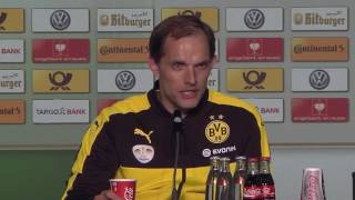 Pressekonferenz: Thomas Tuchel nach dem Pokalfinale 2016 | FC Bayern München - BVB 4:3 n.E.