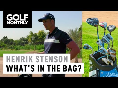 Henrik Stenson I 2018 What's In The Bag I Golf Monthly