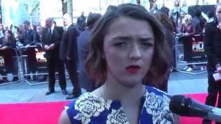 LFF World Premiere: Maisie Williams, Florence Pugh, Carol Morley   The Falling (The Fan Carpet)
