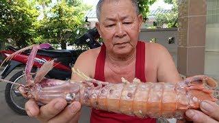 Xí được 2 con tôm tít 500gr || Giant Mantis Shrimp