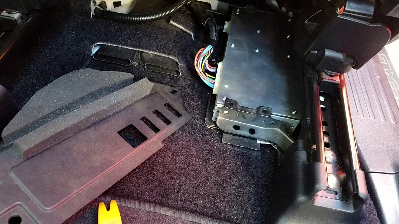 How to Remove Amplifier from Lexus GX460 2014 for Repair  YouTube