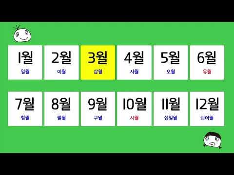 韓国語の【日にちの表現】