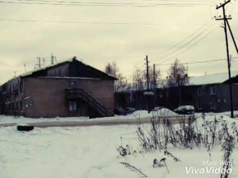 Деревянные дома Пыть-Яха уходят в историю / Wooden Houses Pyt-Yakh Go Down In History.
