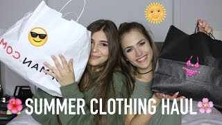 SUMMER CLOTHING HAUL W/ OLIVIA JADE (Topshop, Brandy Melville) | Mel Joy