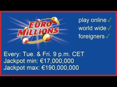 How to play EuroMillions Lotto online from any country
