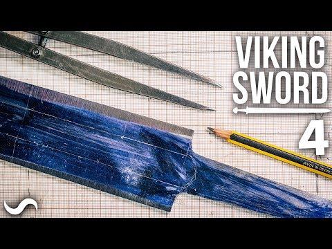 MAKING A VIKING SWORD!!! Part 4