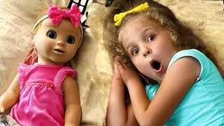 My super fun day with Dolls - story from Nadia