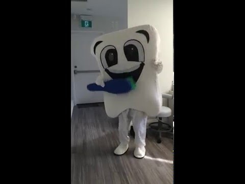 VIDEO - Mr. Tooth (TBD Mascot) Is Ready For The Beaches Easter Parade!