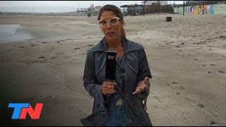 Dejaron a la nena enterrada en la arena para meterse al mar