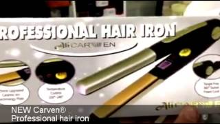 NEW Carven professional hair iron