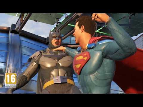 Injustice 2 - Tráiler Superman -  Alianzas Rotas
