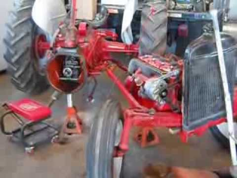 Ford 2n Tractor 6 Volt Wiring Diagram 8n Ford Tractor Repair Youtube
