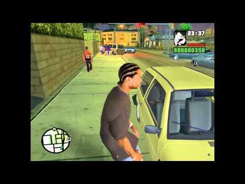 Тачку на прокачку в GTA San Andreas - ОКА (pimp my ride).avi