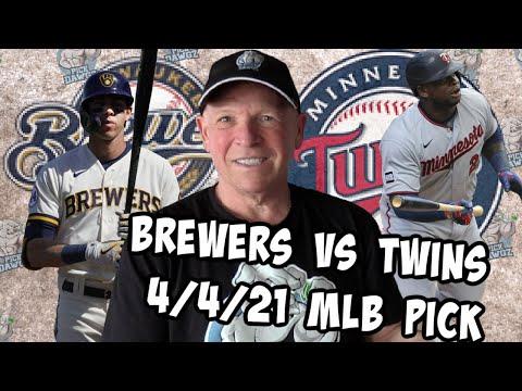 Milwaukee Brewers vs Minnesota Twins 4/4/21 MLB Pick and Prediction MLB Tips Betting Pick