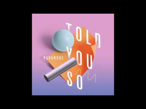 Paramore - Told You So [Male Version]