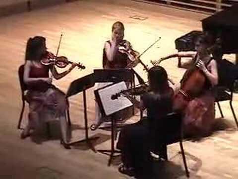 "Dvorák ""American"" Quartet, 4th Movement"