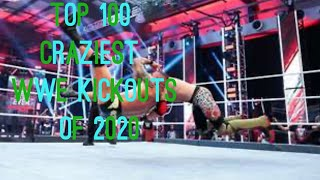 Top 100 Craziest wwe kickouts of 2020 part 1