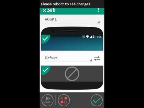 Как поменять статус бар на Nokia x2