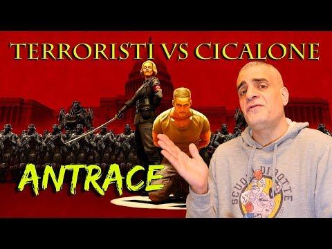 Terroristi mandano Antrace a Cicalone
