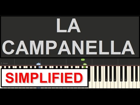 La Campanella *SIMPLIFIED* Piano Tutorial (Liszt) *WITH SHEETS* by SPW