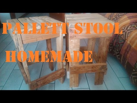 Sgabelli fai da te riciclando palletts by paolo brada diy youtube