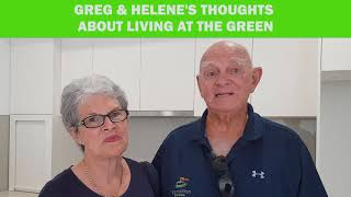 Greg and Helene - thoughts on living at The Green