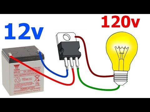 como-hacer-un-inversor-de-voltaje-de-12v-a-120v-fácil-y-rápido!