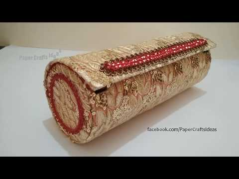 How to make Jewelry Box   Best Out of Waste Craft Idea   DIY Jewelry Box   How to Make Bangle Box